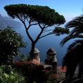 Traumblick auf das tyrrhenische Meer von Ravello