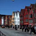 Bergen, Blick auf das alte Hanseviertel