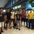 8月18日、米津さんは成田から遠くアメリカへと旅立ちました