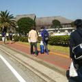 国際武道大学へ向かいます。