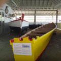 Hier gibt es eine Walfangtradition, mit diesen Booten