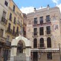 Platz mit Brunnen, Iglesias