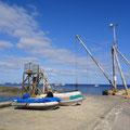 Hafen mit Kran