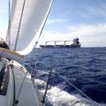 Überfahrt zum Peloponnes