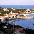 Othonoi Hafen und Ankerbucht