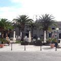 Der Hauptplatz von Villasimius