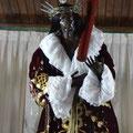 Mit schwarzer Jesus Statue