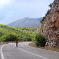 Straße nach Epidaurus