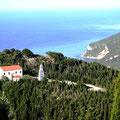 Blick Richtung Albanien