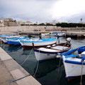 Fischerboote in Otranto