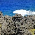 Überall zerklüftete Felsen