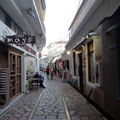Einkaufsstraße in Spetses