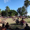 Diese Haufen Kokosnüsse wird um die Wette verarbeitet