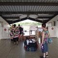 Der kleine Flughafen von Hiva Oa