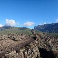 Ausblick auf die Cumbres