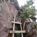 Das letzte Stück zum Gipfel ist ein bisschen zum Klettern