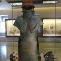 Berühmte Rüstung im Museum