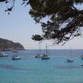 Port Sant Elm, ein friedliches Ankerfeld