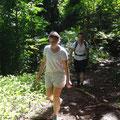 Wir wandern zu den drei Pinien