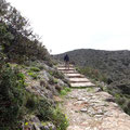 Weg von Moni Gouverneto in die Schlucht