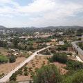 Blick über die Insel Ibiza