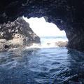 Grotte mit Naturschimmbecken