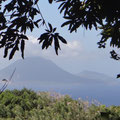 Blick auf Statia und Saba