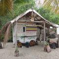 Strandbar an der Petit Anse