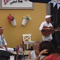Straßenmusik klingt schon sehr südamerikanisch