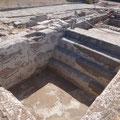 Badebecken in einem römischen Landsitz