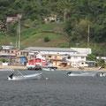 Fischerboote vor Charlotteville