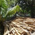 Bambus als Baumaterial