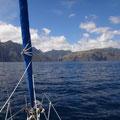 Fatu Hiva, eine sehr felsige Insel