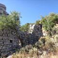 Antike Hausreste