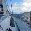 Hart am Wind nach Carriacou