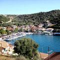 Hafen Vathy auf Meganisis
