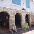 Historischen, renovierten Häusern im Hafenviertel