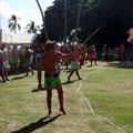 Polynesische Sportler