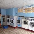 Waschsalon, einfach aber effizient