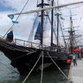 Und ein  traditionelles Schulschiff