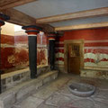 Der Thronsaal in Knossos