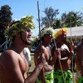 Teams auch von den Cook Island, Samoa und anderen Staaten