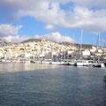 Hafen Ermoupolis auf Syros