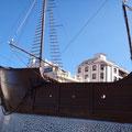 Schifffahrtsmuseum ein Nachbau der Santa Maria
