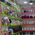 Panamahüte, da gibts genug Auswahl