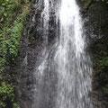 Cascade, es regnet und ist auch ohne Bad nass genug
