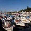 Fischerboote in Spetses