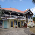 Eines der schönen Häuser im Kolonialstil
