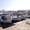 Fischerhafen in Naousa