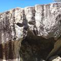 Höhlen mit Gesicht